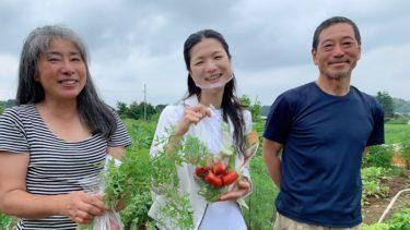 上谷本町のなかむらの野菜を生み出す笑顔と心!(2020.07.25)